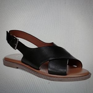NEW!! Franco Sarto Kayleigh Leather  Sandals